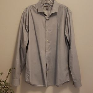 Express Fitted dress shirt large 16-16.5